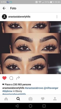 Gotta love those lashes & brows