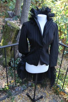 Steam punk Neo Victorian Dress Jacket by TimelessCoutureByIya