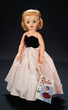 Classic debutante blonde Revlon from the collection of Robert Tonner Theriault auction