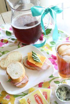 basil mayo spread sandwhich recipe