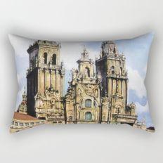 Catedral de Santiago de Compostela/Santiago de Compostela Cathedral Rectangular Pillow
