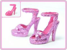 My Barbie Doll Shoes Design ~ Before & After