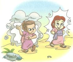 MANUALIDADES: Jesús y Nicodemo   MINISTERIO INFANTIL ARCOIRIS
