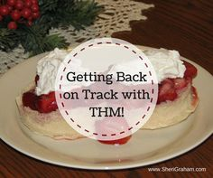 I have to admit that this past year I have been cheating too much and not staying on plan…and gained about 10 pounds! Yikes! To me it just proves that Trim Healthy Mama works and when I don't eat right, well, I gain and feel yucky! We have had some stressful times as a family […]