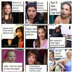 SO TRUE LOL!!! Except Jill did change, her and Melissa are my 2 favorite dance moms. They have the most common sense