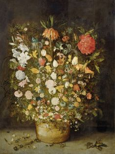 Still Life with FlowersStilleven met bloemen, workshop of Jan Brueghel (I), 1600 - 1630