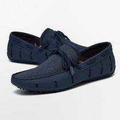 Aleader Men's Lace-up Loafers Swim Shoes