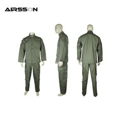 49.40$  Buy here - http://ali0ny.shopchina.info/go.php?t=32495551164 - Military Special Force Combat V2 Uniform Shirt & Pants Olive Drab Tactical Paintball Combat Durable Jacket Suit with Zipper  #SHOPPING