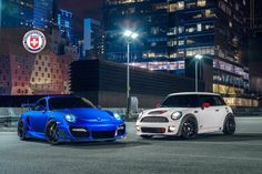 Etonnant Bring You Fun Driving Cars, Porsche 997 Turbo S And Teshi Version Mini  Cooper GP, Both Of Which Have A Place In Their Respective Areas Belongs.  Blue Paint ...