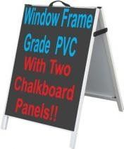PVC A-Frame Sidewalk Sign Chalkboard/Dry Erase //  Description Great for use with coffee shops, flower shops, pawnshops, restaurants, bars, liquor stores, grocery stores, music stores... and any retail stores! Please send us a message or email: sales@accentprinter.com with the color board you would like. If not specified, we will ship the black board as shown. //   Details   Sales Rank: #216100 in// read more >>> http://Mancilla315.iigogogo.tk/detail3.php?a=B008F8MET4