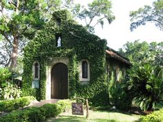 Our Lady of LaLeche Catholic Church, St. Augustine, Florida. One of the first catholic churches in the U.S. manages to cram a whole lot of spiritual power into a small space.