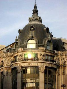 BHV(BAZAR DE L'HOTEL DE VILLE), one of oldest department store in Paris. The Bazar de l'Hôtel de Ville or BHV is a department store on rue de Rivoli in the 4th arrondissement of Paris, facing the Hôtel de Ville.