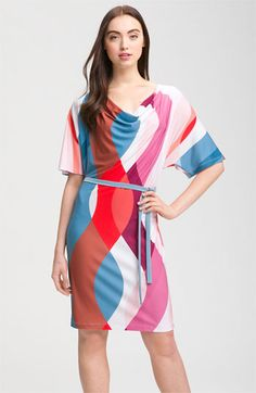 LOVE LOVE LOVE the colors and pattern! Light weight jersey- Nordstrom
