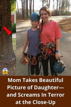 #Mom #Takes #Beautiful #Picture #Daughter #Screams #Terror #Close #Up