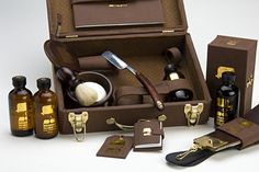 Now here's a grooming kit I could want... Selectism - Mister Nesbitt Grooming Kit