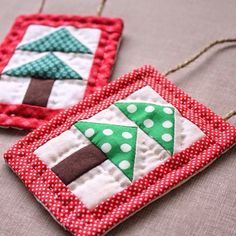 Quilted Christmas Ornament Tutorial - UCreate
