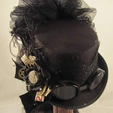Victorian Riding Hats | Victorian Riding Hats : Queen Anne's Lace, A Heritage Lace Gallery ...