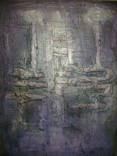 Abstrakcja - malarstwo materii