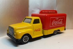 Coca-Cola 1950 USA Style Delivery Truck Van Vintage Diecast Vehicle 80s-90s by MyCoffeeBoy on Etsy