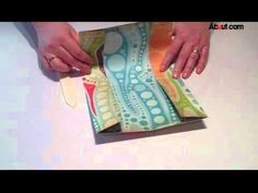 How to Make a Pocket Scrapbook from one piece of 12x12 paper