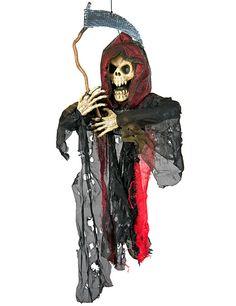 Grim Reaper Sensenmann Hänge- Dekoration 50cm