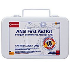 Today Buying - Unitized First Aid Kit, 8in.H x 2 1/2in.W x 9in.D