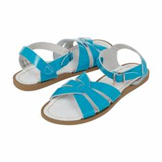 Salt-Water Original Premium-Shiny Turquoise - Ladies - Sandals - Shoes