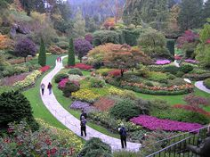 to spend time with my husband in Butchart Gardens, on Greater Victoria, Vancouver Island, British Columbia, Canada
