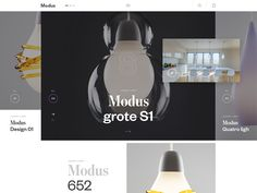 Homepage lights by Andrej Krajčir