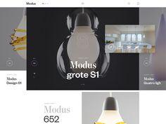 Homepage lights by Andrej Krajčir