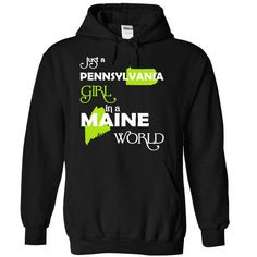 (PAXanhChuoi001) Just A Pennsylvania Girl In A Maine Wo - #hooded sweatshirt #floral sweatshirt. FASTER => https://www.sunfrog.com/Valentines/-28PAXanhChuoi001-29-Just-A-Pennsylvania-Girl-In-A-Maine-World-Black-Hoodie.html?68278