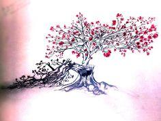 Resultado de imagen para beautiful tree drawing