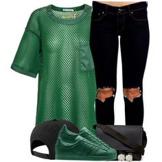 3-28-15 <3 by no-flex-zone on Polyvore featuring Acne Studios, Boohoo, Givenchy, Auriya and NIKE