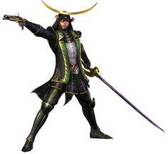 Masamune Date from Samurai Warriors 3