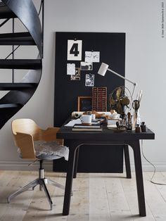 5 Baffling Home Office Design Ideas! Home Office Design, Home Office Decor, Office Ideas, Workspace Inspiration, Interior Inspiration, Sweet Home, Office Workspace, Scandinavian Home, Interiores Design
