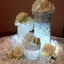 AGLARY Lot de 2 bougeoirs Ronds en Cristal pour d/écoration de Table