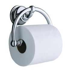 Fairfax Wall-Mount Single Post Toilet Paper Holder in Polished Chrome-K-12157-CP at The Home Depot