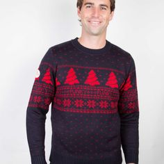 Designer Fair Isle Christmas Jumper from Funky Christmas Jumpers Ireland. This Designer Fair Isle Christmas Jumper is the perfect fashion accessory over the Christmas party season. Mens Christmas Jumper, Christmas Jumpers, Christmas Sweaters, Long Awaited, Christmas Photos, Looks Great, Men Sweater, Comfy, Album