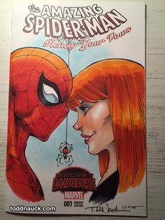 Todd Nauck - Spider-Man: Renew Your Vows commission.
