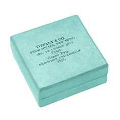 This rare Tiffany Blue Box® notes Tiffany's grand prize win for jewelry at the 1878 Paris World's Fair. #TiffanyPinterest