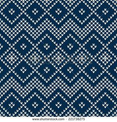 Winter Seamless Knitting Pattern