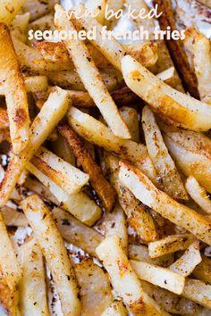 Oven Baked Seasoned French Fries Recipe on Yummly. @yummly #recipe