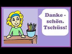 ▶ Deutsch lernen: Dialog im Schreibwarenladen (shopping - au magasin) - YouTube