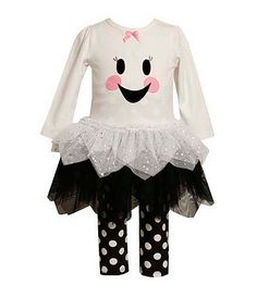 Bonnie Jean Halloween Ghost Tutu Dress and Leggings Set - Girls Halloween Tutu Dress, Baby Girl Halloween Outfit, Halloween Leggings, Halloween Outfits, Halloween Costumes, Halloween Fun, Toddler Outfits, Girl Outfits, Ghost Dresses