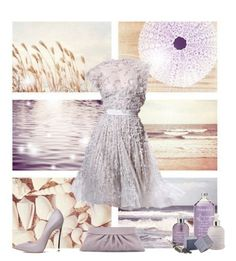 """Lavender Lights"" by shaneeeee ❤ liked on Polyvore featuring moda, Lauren Merkin, women's clothing, women, female, woman, misses e juniors"