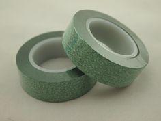 green glitter tape,green bling bling glitter tape,green stock glitter tape,green flicker tape