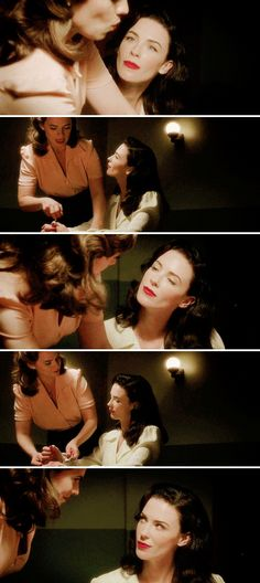 """Peggy Carter and Dottie Underwood #Marvel #AgentCarter 2x01 """"The Lady in the Lake"""""""