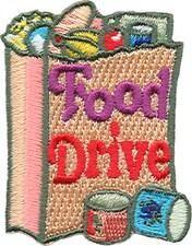 S1443 - Food Drive Fun Patch