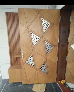 Main Entrance Door Design, Front Door Design Wood, Wooden Door Design, Flush Door Design, Door Design Interior, Door Design Images, Modern Wooden Doors, Decorative Room Dividers, Ceiling Design