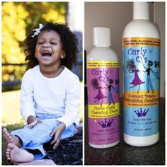 Ethnic baby hair care products